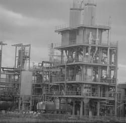 Complexe industriel au sud de Lyon