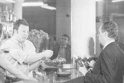 Cinéaste Paul Bublex : tournage d'un film publicitaire