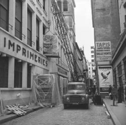 Echo-Liberté, Imprimerie Bellecour, Installations Offset