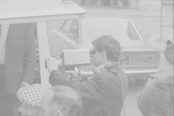 Un des premiers tournages vidéos, reportage Setic-Lyon