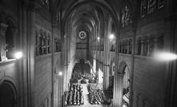 [Cathédrale Saint-Jean : les funérailles du cardinal Gerlier]