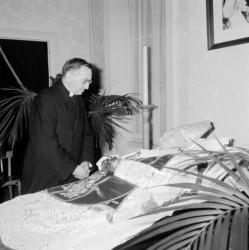 Mort du cardinal Gerlier