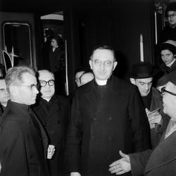 Monseigneur Villot de retour de Rome