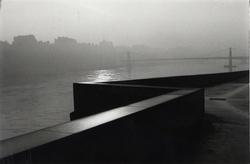 Lyon. Quai du Rhône vers l'Opéra, 1984