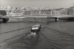 La Saône au pont Alphonse-Juin