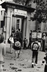 Jour de la rentrée des classes à l'école Robert-Doisneau