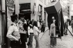 Vieux-Lyon, quartier Saint-Jean, rue de la Bombarde