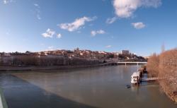 La Croix-Rousse vue depuis le pont Morand