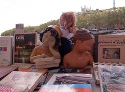Bouquinistes du quai de la Pêcherie