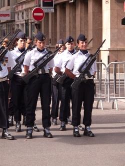 Revue militaire du 13 juillet 2012 cours Franklin-Roosevelt