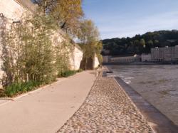 [Aménagement des Rives de Saône : bas-ports du quai Saint-Vincent]