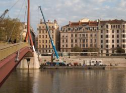 [Aménagement des Rives de Saône : bas-ports du quai des Célestins]