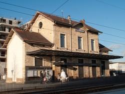 Ligne de l'Est lyonnais : gare ferroviaire de Villeurbanne