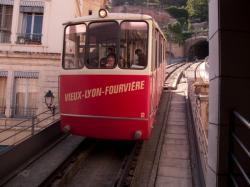 Funiculaire de Fourvière, station Vieux-Lyon