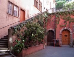 Maison du Crible, rue du Boeuf : la cour