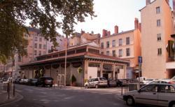 La Halle de la Martinière, rue de la Martinière