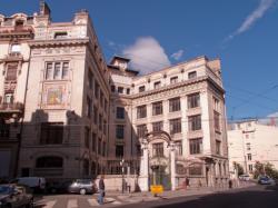Lycée La Martinière, vue d'ensemble depuis la rue de la Martinière