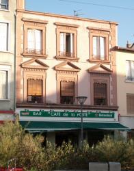 Un immeuble avenue Jean-Jaurès à Villeurbanne