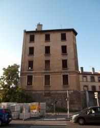 Un immeuble condamné route de Genas