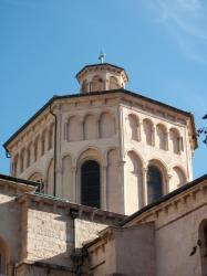 L'église Saint-Paul vue depuis la place Gerson
