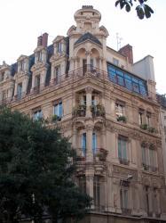"""[Hôtel du journal """"Le Nouvelliste de Lyon""""]"""
