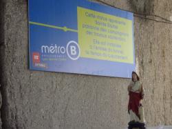 Prolongement de la ligne du métro B