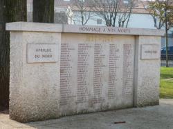 Monument aux Morts, Montchat : 1939-1945, Outre-mer, Afrique du Nord