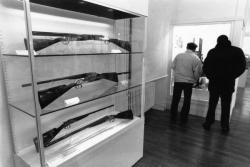 """[Musée d'art et d'industrie de Saint-Etienne : exposition """"Profession armurier""""]"""