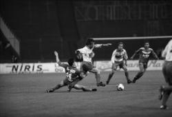 [Football : Olympique lyonnais - Louhans-Cuiseaux FC (1-1)]