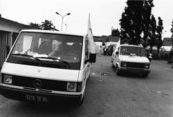 [Convoi humanitaire de l'association EquiLibre pour la Yougoslavie]