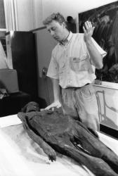 [Examen d'une momie à l'Hôpital Edouard-Herriot]