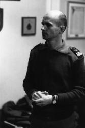 [Commandant Thierry Ollivier du 68e RA de La Valbonne]