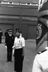 [Marie-Christine Fix, commandant de la base aérienne du Mont Verdun]