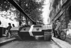 [Des chars russes pour le tournage d'un film à Lyon]
