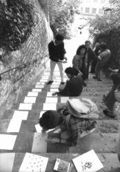 [Octobre des arts (1986) : Performance de Sam Cannarozzi]