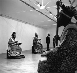 [Musée d'art contemporain de Lyon. Oeuvre de Sunday Jack Akpan]