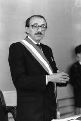[Gérard Collomb, maire du 9e arrondissement de Lyon]