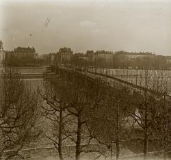 Vue sur le pont de la Guillotière