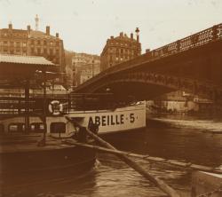 Lyon, pont La Feuillée