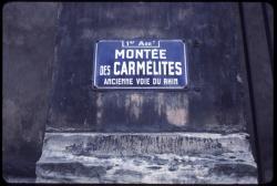 Montée des Carmélites