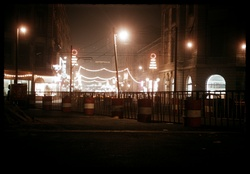 Rue de la barre la nuit