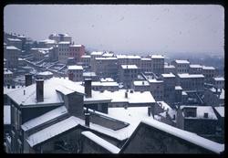La Croix-Rousse sous la neige