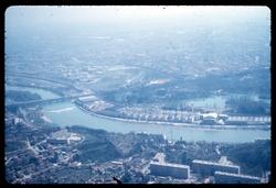 La foire de Lyon par hélicoptère