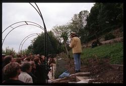 Jardin du rosaire : l'ancienne roseraie