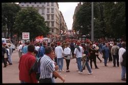 [Sommet annuel du G7 à Lyon : manifestation]