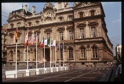 [Sommet annuel du G7 à Lyon : l'hôtel de ville]
