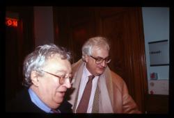 Institut Lumière : Bertrand Tavernier et Bernard Chardère