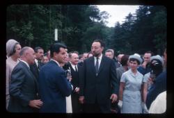 [Inauguration de la roseraie du Parc de la Tête-d'Or]