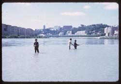 Lyon : pêcheurs