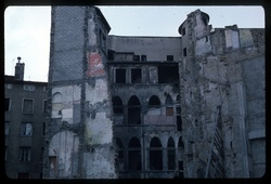 Rue Mercière : ruines